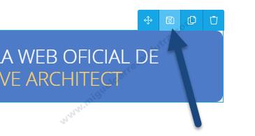 thrive architect nueva interface