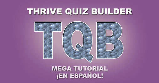 thrive quiz builder tutorial