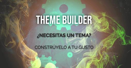 theme builder creador de plantillas