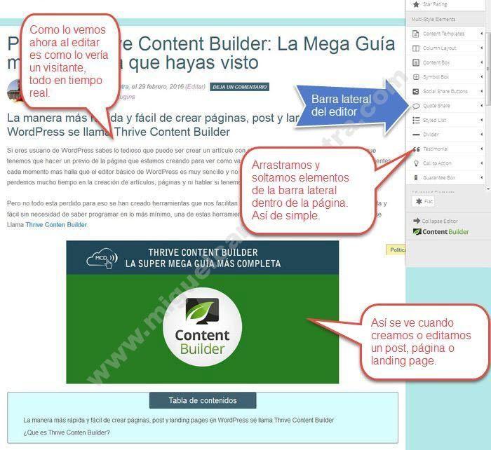 thrive content builder tutorial