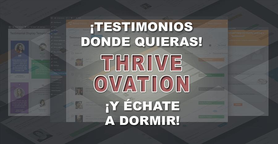 Thrive Ovation