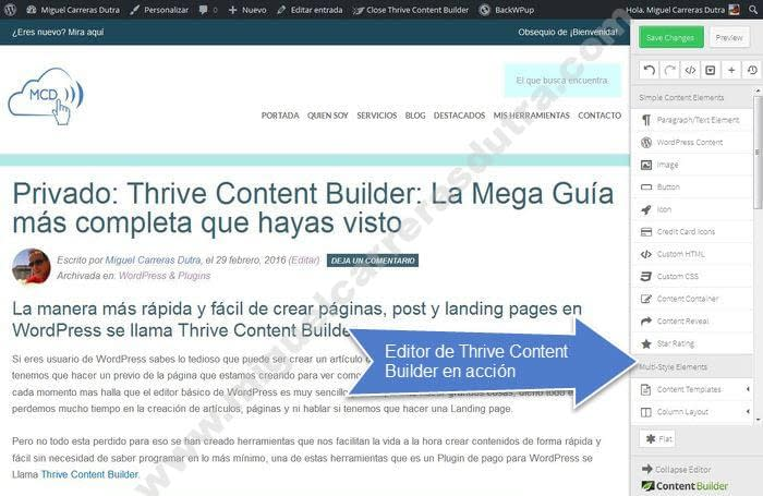 thrive content builder tutorial