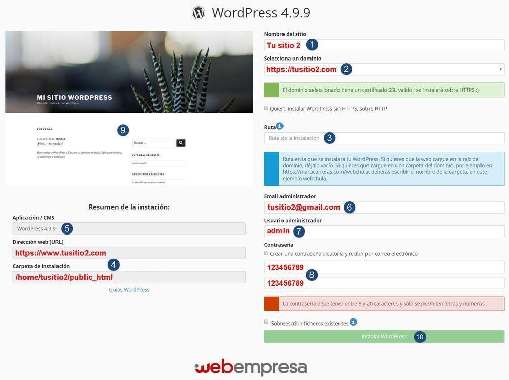 webempresa 7 razones