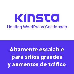 kinsta hosting wordpress