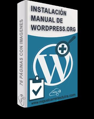 Instalación Manual de WordPress.org