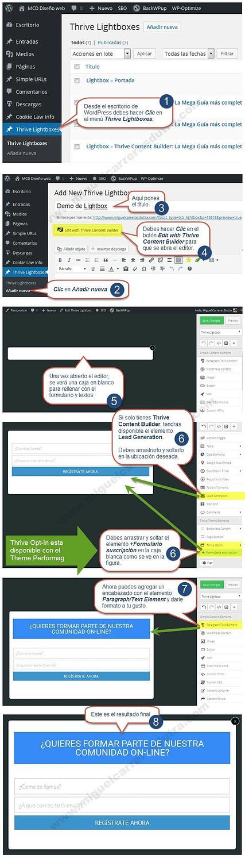 thrive content builder tutorial parte 4