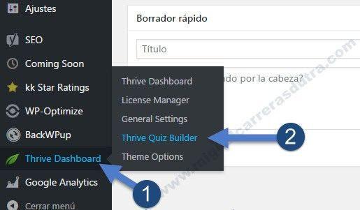 thrive quiz builder tutorial