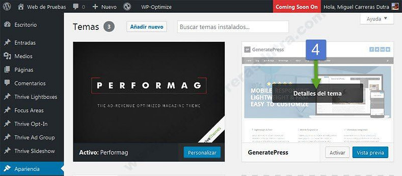 generatepress tutorial