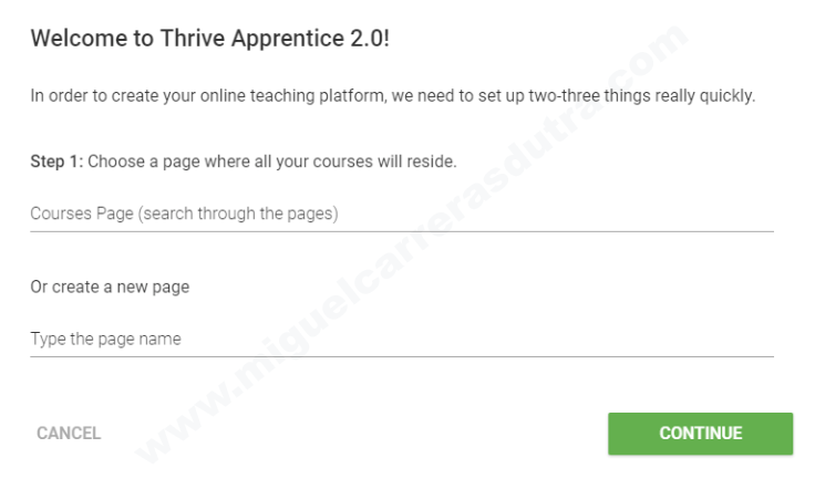 thrive apprentice tutorial