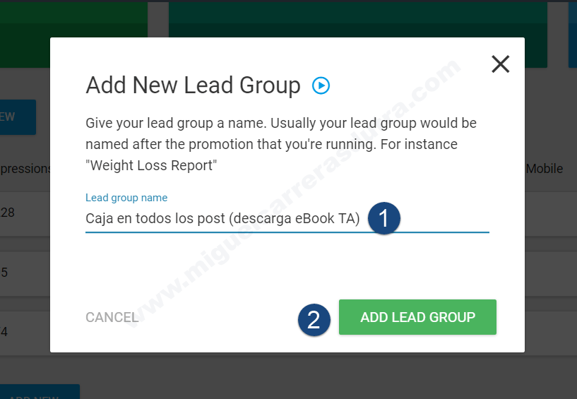thrive leads tutorial